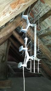 montaż anteny dvb-t pod dachem